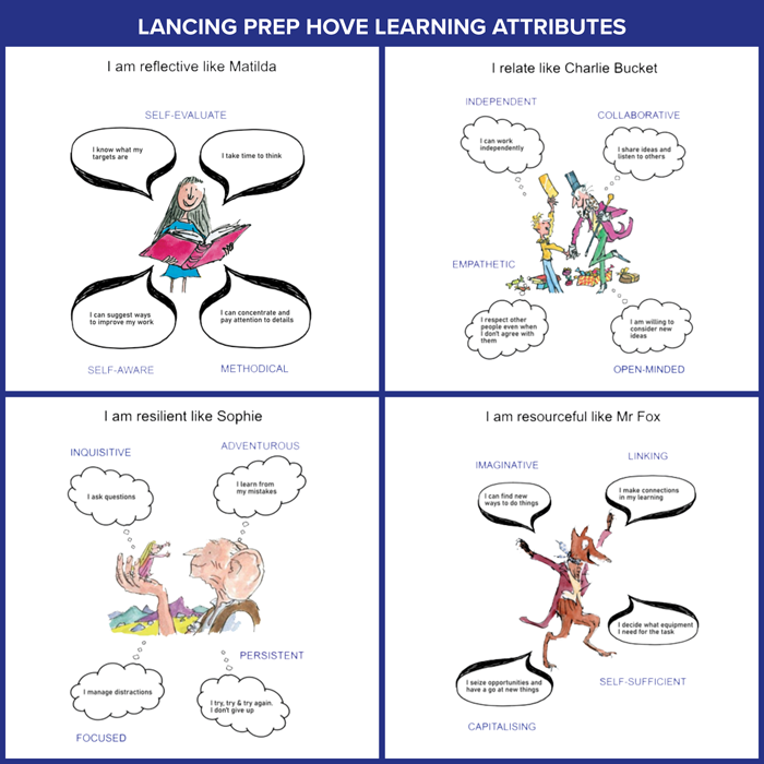 Lancing Prep Hove Learning Attributes