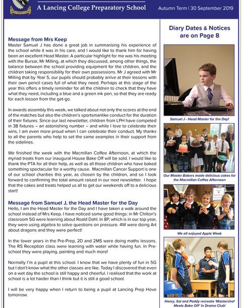 The latest LPH newsletter