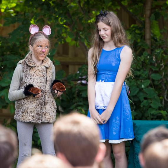 Lancing Prep Hove Years 7 and 8 Alice in Wonderland