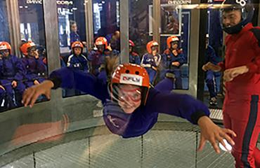 Year 6 indoor skydiving experience