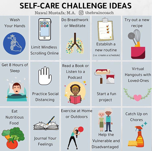 Self Care Challenges