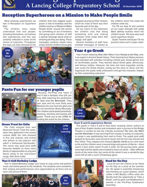 Lancing Prep Worthing News Bulletin 13 12 19