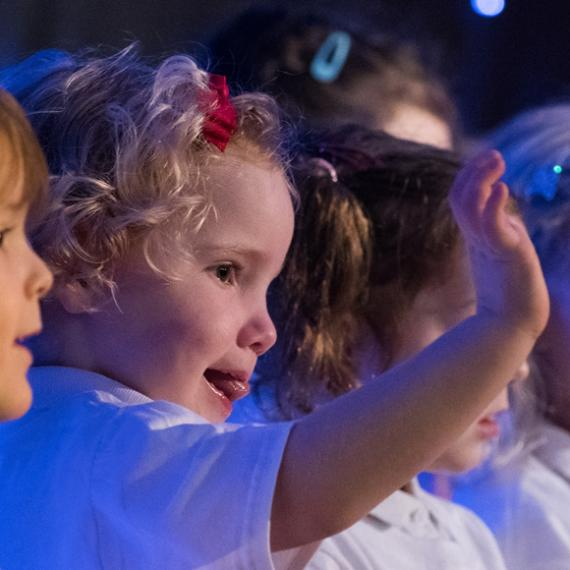 Lancing Prep Worthing Nursery Nativity 2017