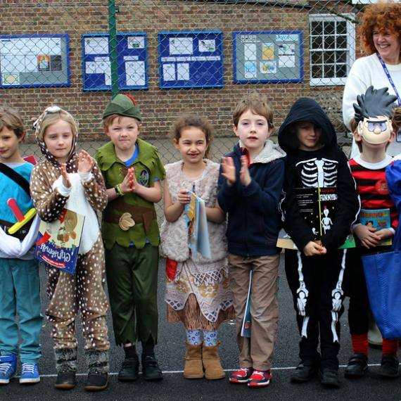 Lancing Prep Worthing World Book Day