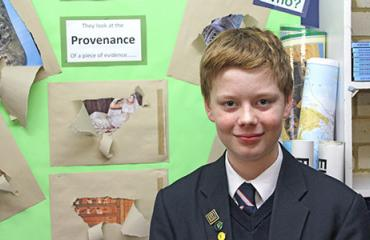 Lancing Prep Worthing pupil making History in national competition