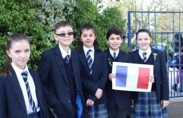 Lancing Prep Worthing pupils take part in French Speaking Competition