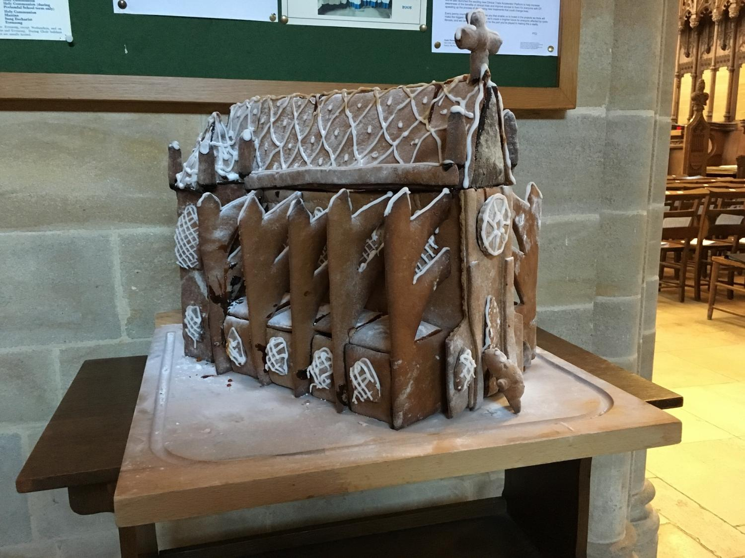 Chapel gingerbread