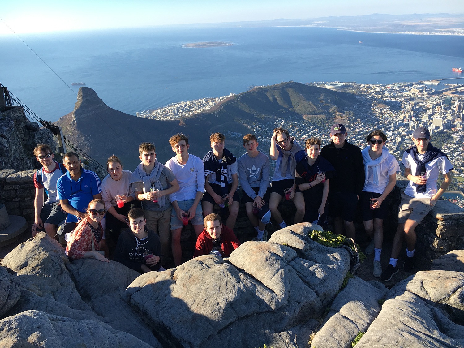South Africa Tour - pupils