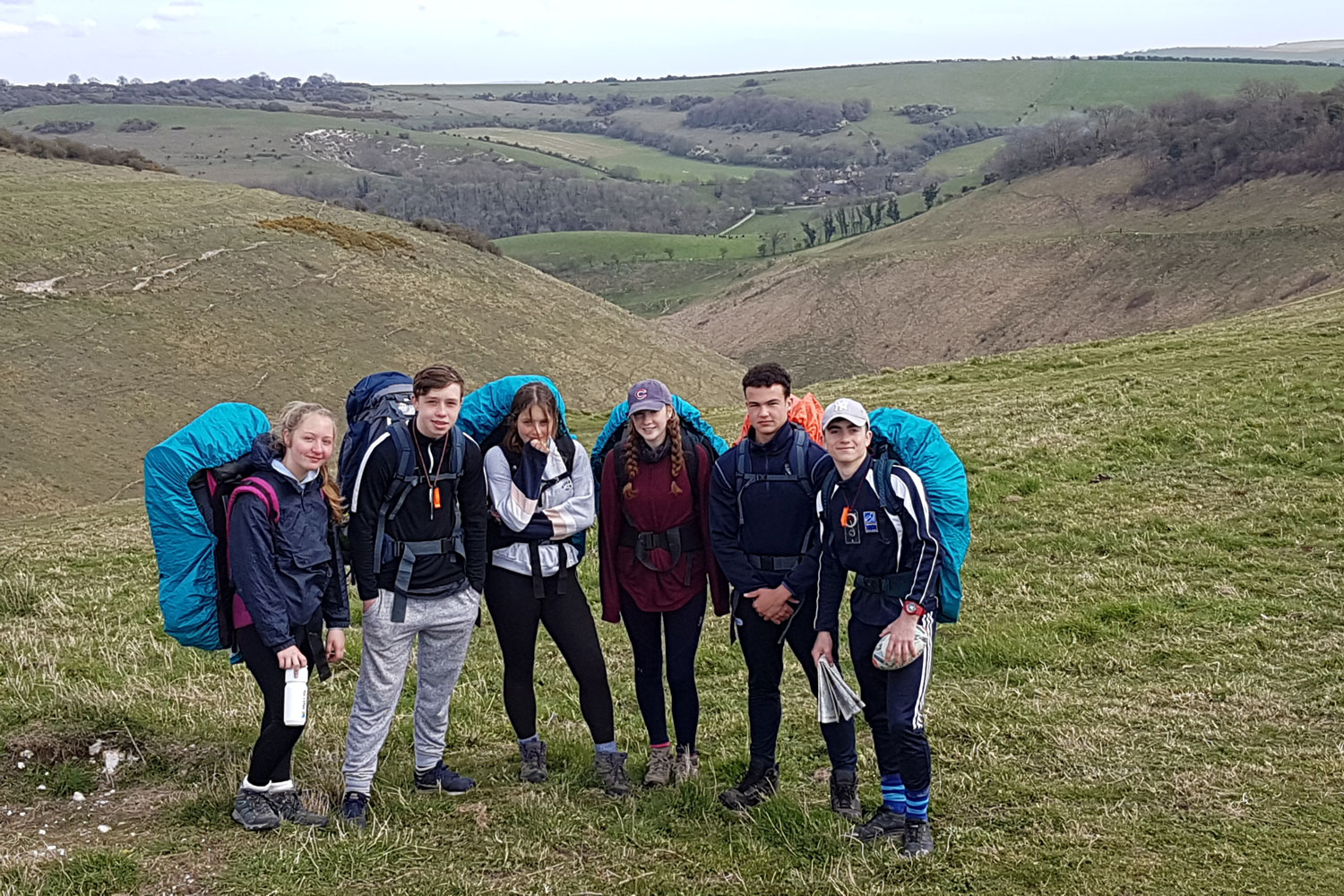 DofE Silver Expedition for Fifth Form Lancing College pupils