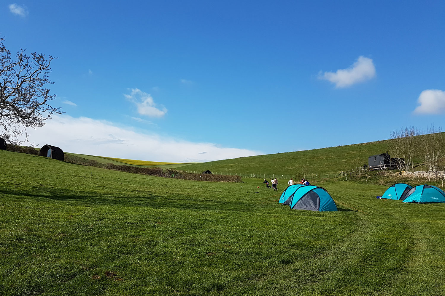 DofE Silver expedition for Lancing College Fifth Form pupils