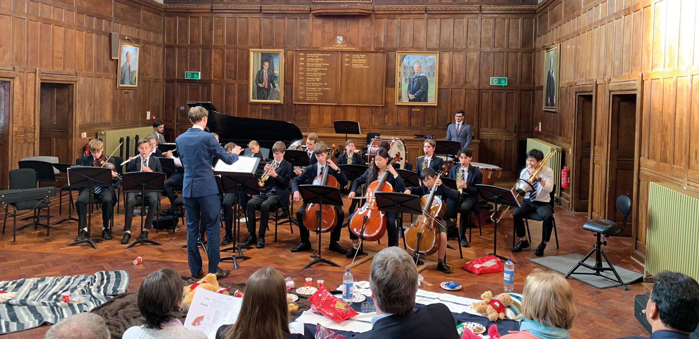 Junior Concert musicians perform at Lancing College