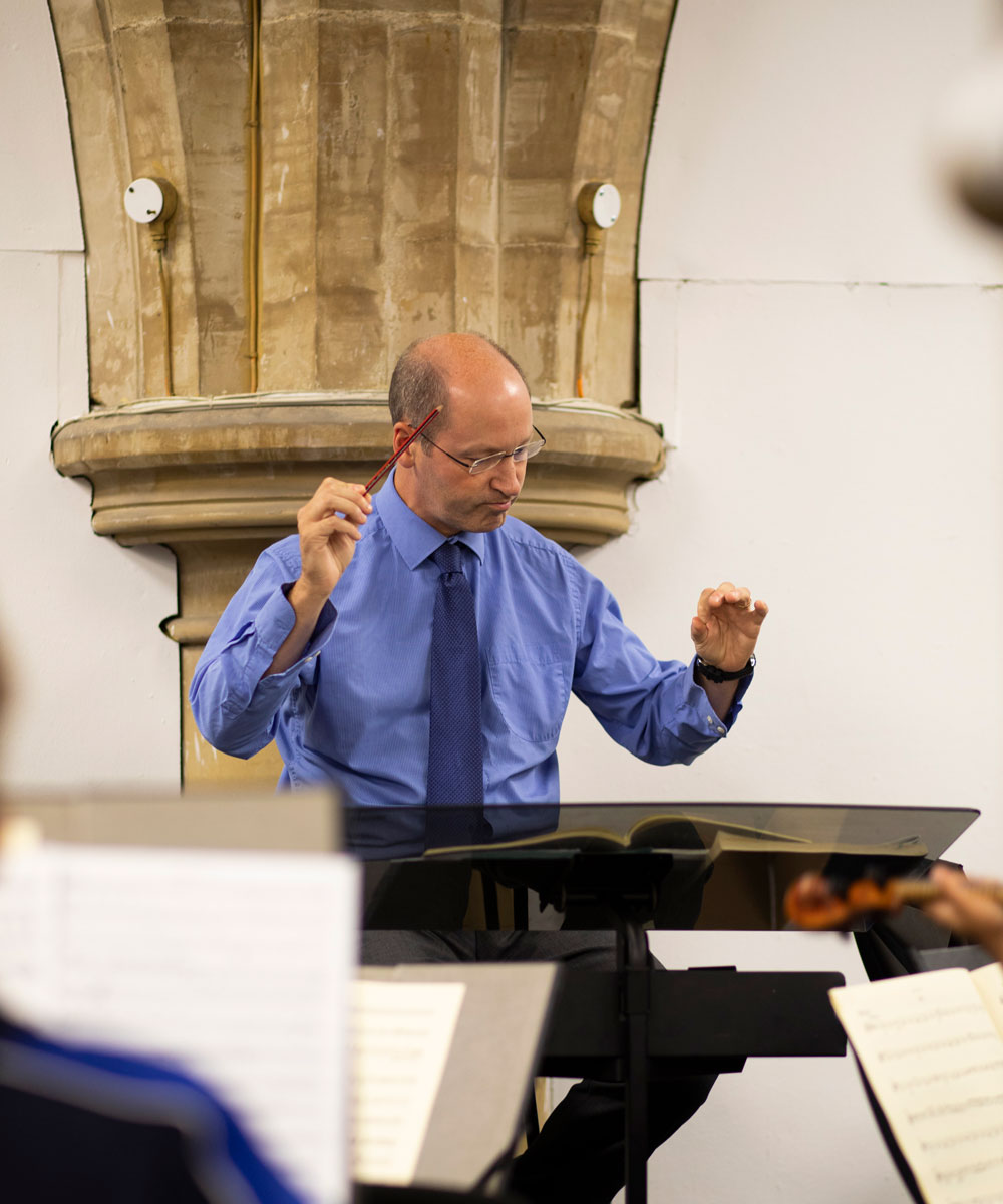 Alexnder Mason Director of Music at Lancing College