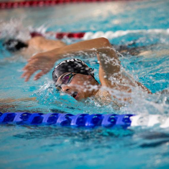Swimming pupil freestyle