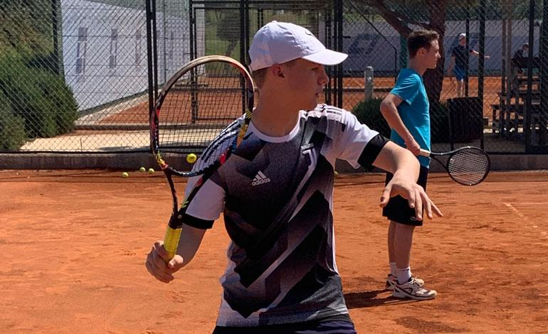 Lancing College tennis players' trip to Cyprus