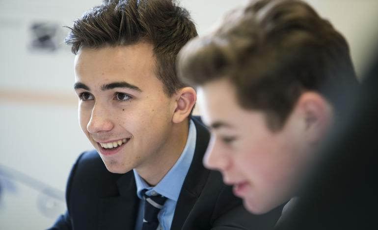 Lancing College Sixth Form pupils