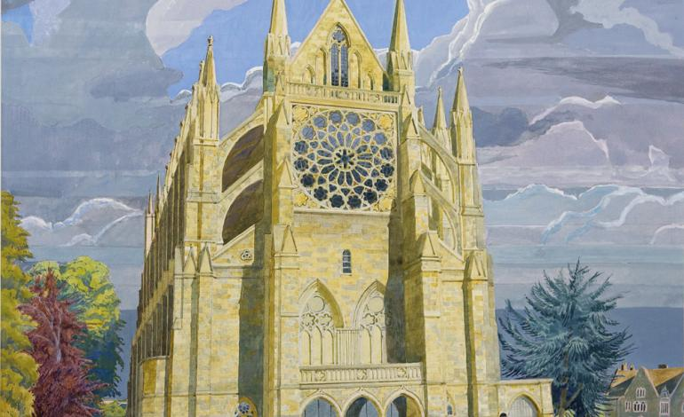 Lancing College Chapel completion update