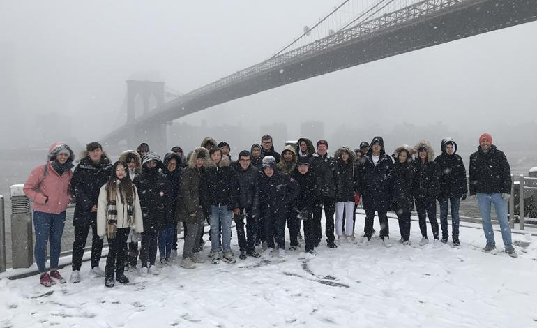 Lancing mathematicians in NY 2019