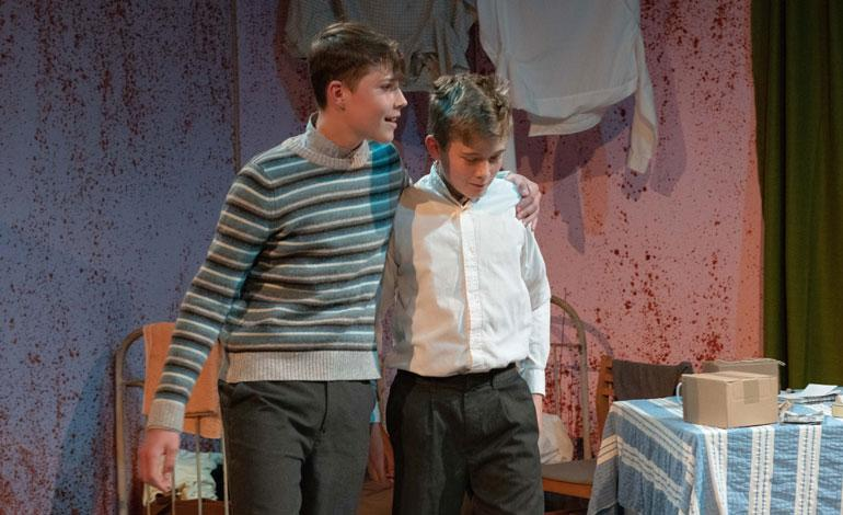Lancing College Fourth Form performs Goodnight Mr Tom at local schools