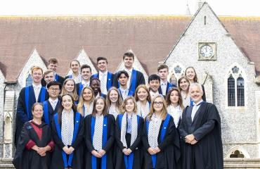 Lancing College Prefects 2018-19
