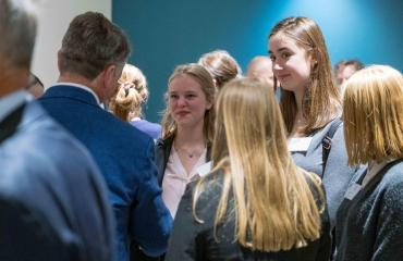Law Society meets alumni and parents on Business Network event