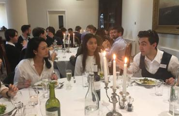 Lancing College pupils attend annual Medics Dinner