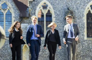 University ambassadors to support pupils after leaving Lancing