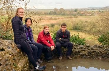 Lancing College Sixth Form pupils braved the cold weather in order to complete their Gold DofE practice expedition