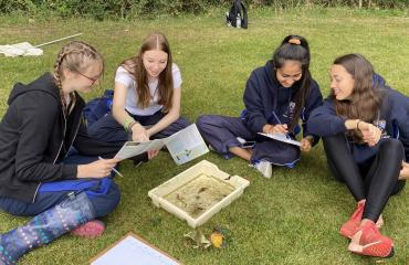 Upper Sixth students complete Biology fieldwork exercise