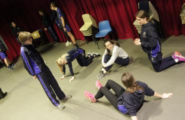 Drama masterclass at Lancing College