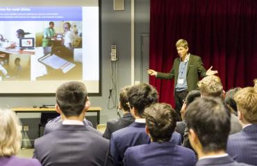 Virtual Doctors Talk at Lancing College