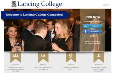 Lancing Connected screen