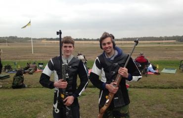 Lancing College Shooting team