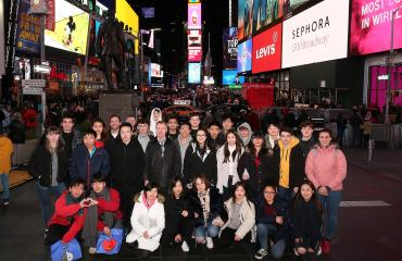 Lancing mathematicians in NY