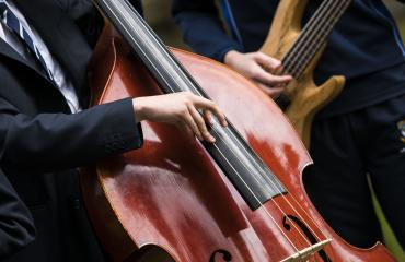 Music at Lancing College - image of a pupil