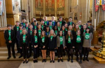 Lancing College Peer Supporters in Lancing Chapel 2019-2020