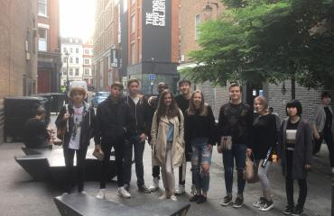 Pupils visit London for photography trip