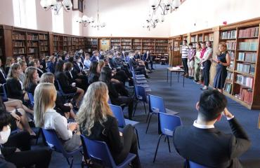 Sixth Formers meet our University Ambassadors