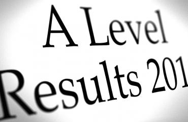 A Level results 2018 graphic