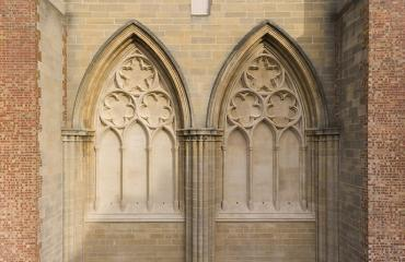 Lancing College Chapel Blind Tracery