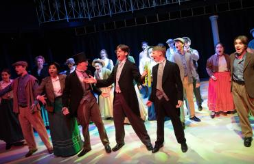 Lancing College pupils perform in musical My Fair Lady